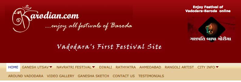 enjoy festival with barodian.com