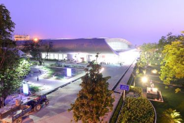 vadodara airport looks beautiful