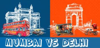 A Hilarious Take On Delhi Vs Mumbai Debate The Battle That Never Ends