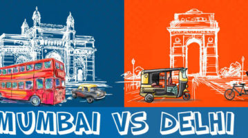 A Hilarious Take On Delhi Vs Mumbai Debate The Battle That Never Ends