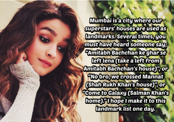 Alia Bhatt's Open Love Letter To Mumbai Is The Most Soothing And Beautiful Thing You Would Read Today