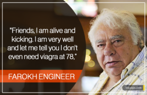 Farokh Engineer's Epic Reply To Everyone Who Thought He Was Dead, Even Rishi Kapoor, Who Tweeted RIP for him
