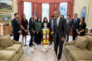 Barack Obama Becomes The 1st US President To Light A Diya In The Oval Office This Diwali