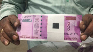 Are These 2000 Rupees Note Fake Or Real ?