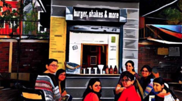 This Cafe That Lets You Exchange Books For Free Food Is Heaven To Delhi's Readers & Foodies