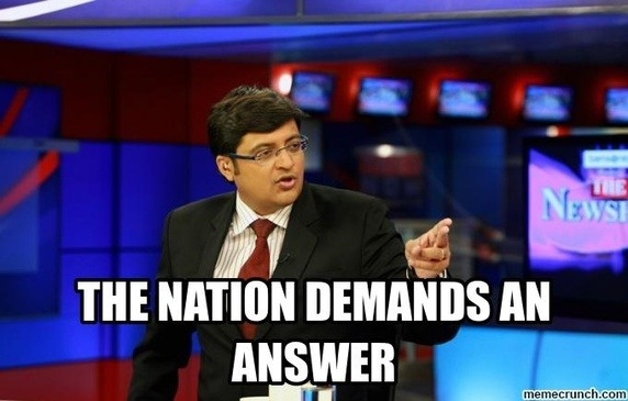 Arnab Goswami Resigns From Times Now, The Nation Wants To Know Why ?