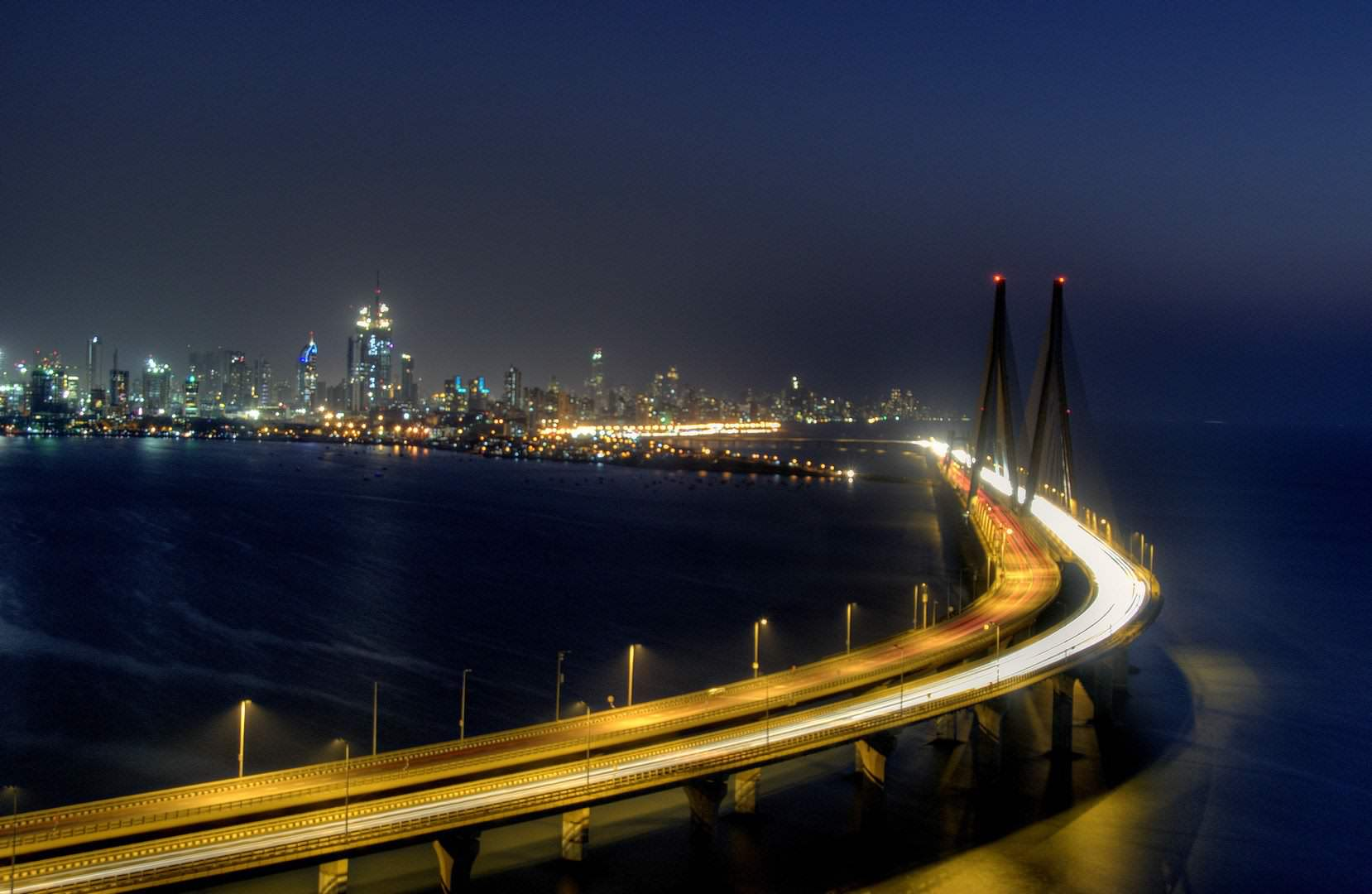 Bandra–Worli Sea Link mumbai