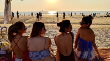 These Bollywood Sisters Are Celebrating New Year In Goa & Looking Super Hot!
