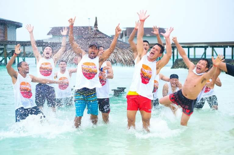 boss takes employees to maldives on vacation