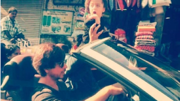 SRK Taking AbRam Out For A Long Drive Is The Most Sweetest Thing You Will See On Internet Today