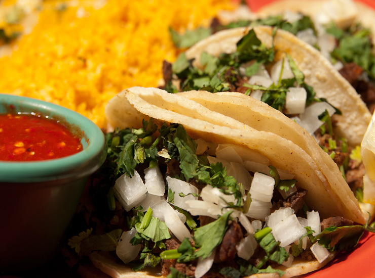 authentic mexican food tacos
