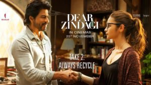 Why the youth of India dealing with several complex issues should embrace life and focus on the positive things of life and integrate Dear Zindagi on Zee Cinema