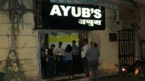Ayubs Places to Eat in Mumbai After Midnight