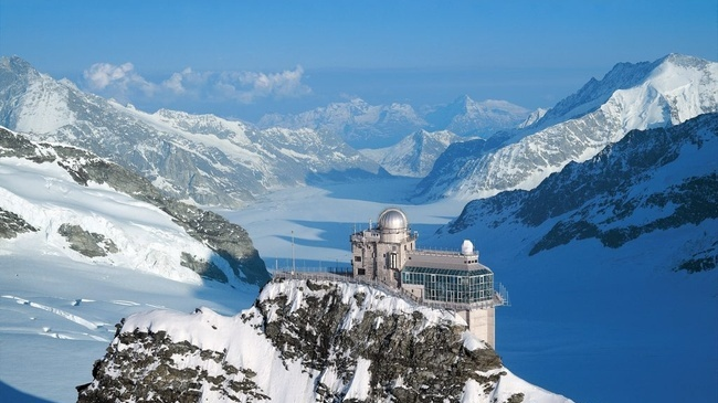 Facts About Jungfraujoch Top of Europe