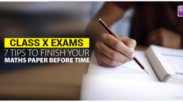 tips to finish your Maths paper before time