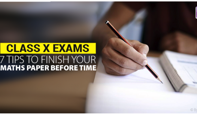 Class X exams: 7 tips to finish your Maths paper before time