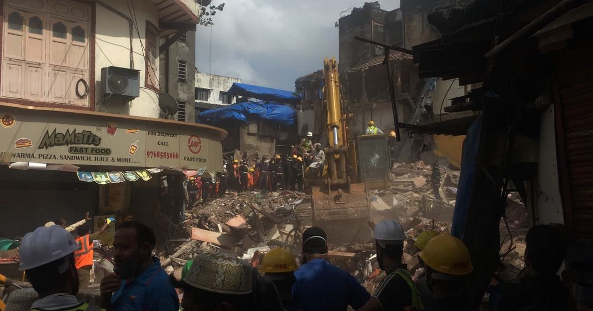 16,000 Buildings In Mumbai Declared Dangerous For Living, After Bhendi Bazaar Building Collapse