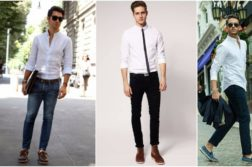 Classic Shirt And Jeans Combinations