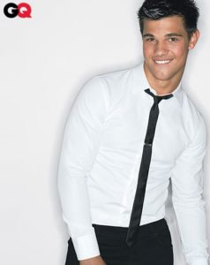 Crisp White Shirt with Black Pants