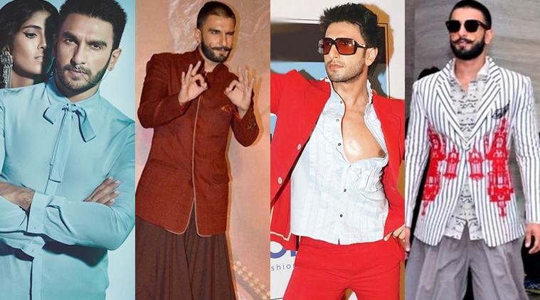 Quirky Outfits That Only Ranveer Singh Could Carry With Confidence