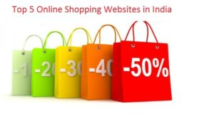 Top 5 Online Shopping Sites in India