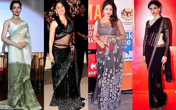 how to wear a saree