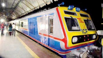 AC local train in Mumbai