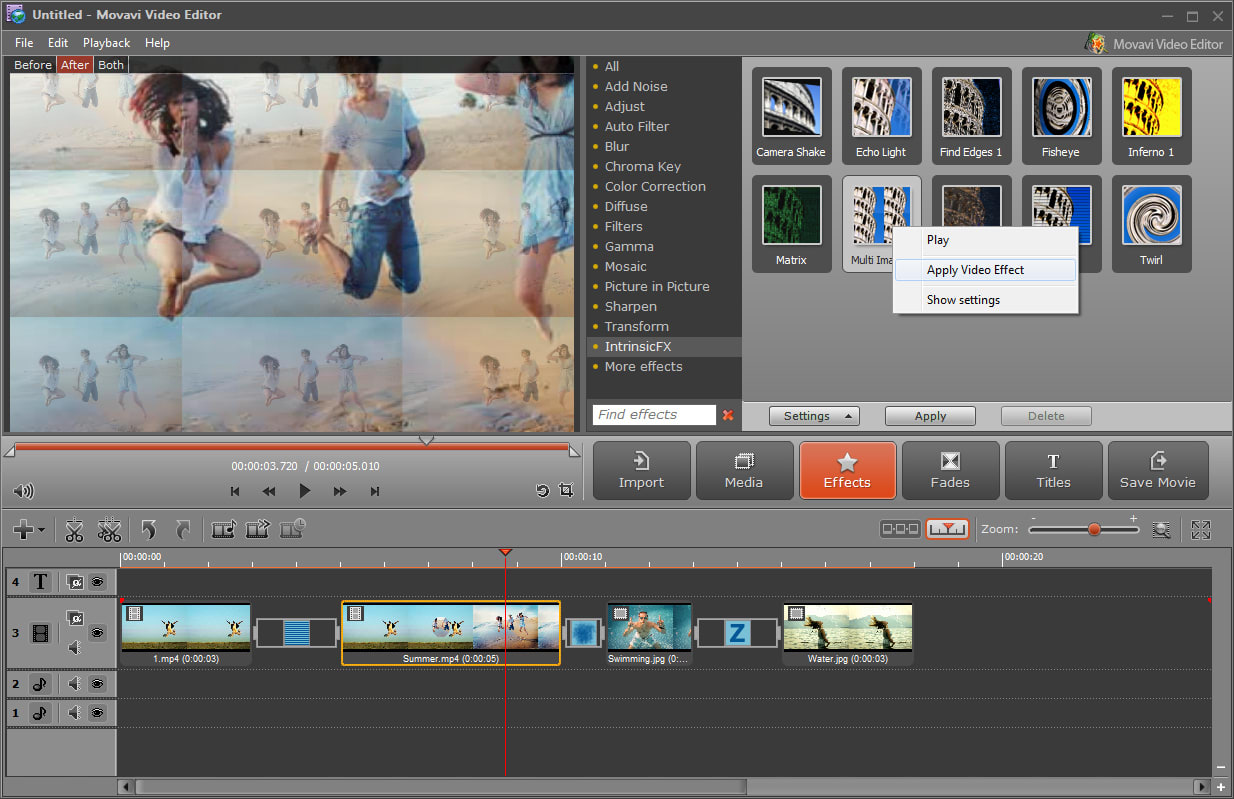 Easy Tips on Mirroring a video using Movavi Video Editor