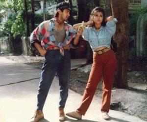 high denims 90s fashion