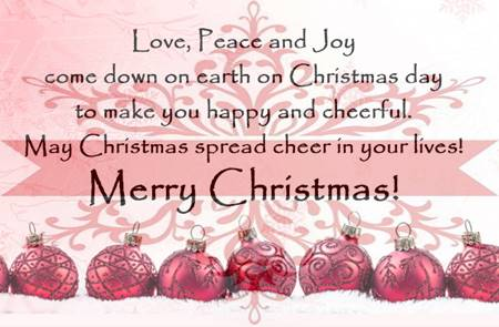 Merry Christmas Quotes and Christmas Wishes for Friends