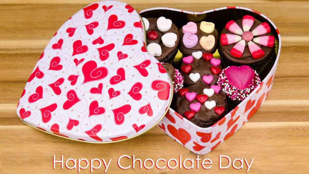 happy chocolate day photo