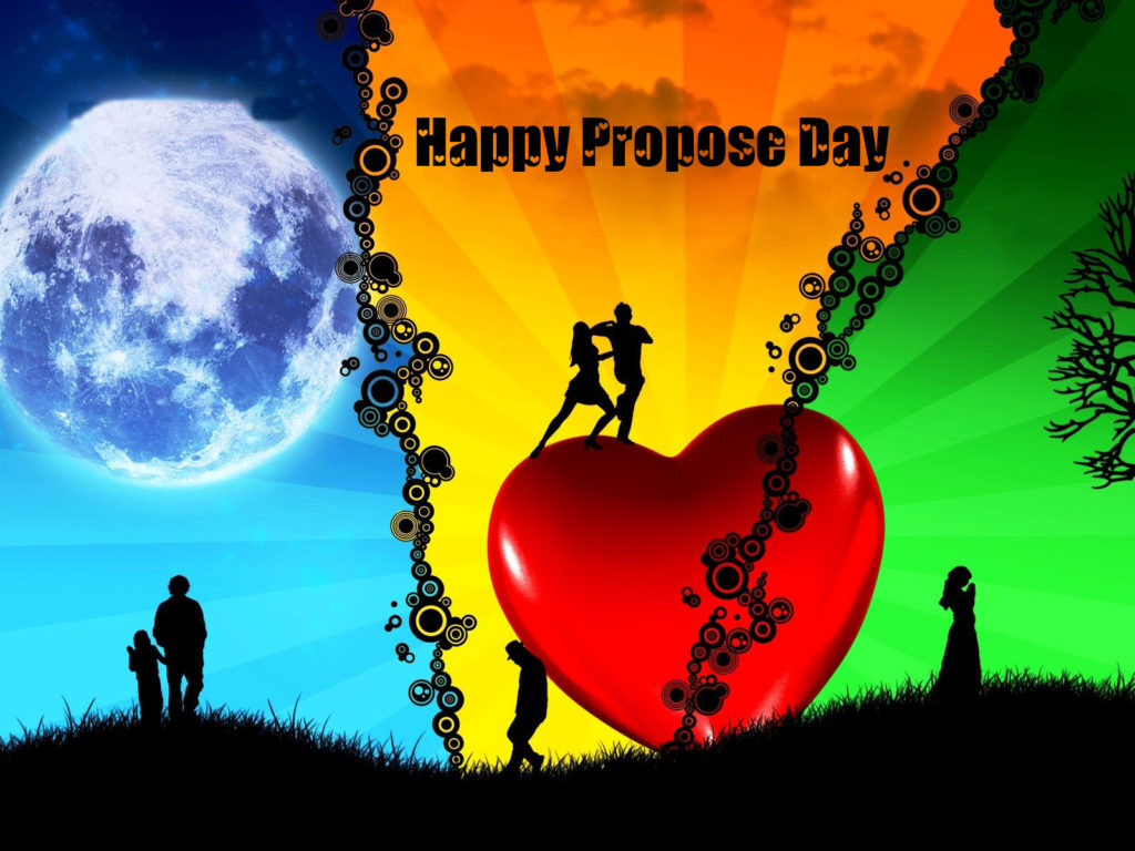 happy propose day photo