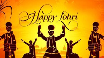 happy wishes lohri image