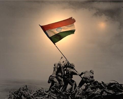 indian flag gif
