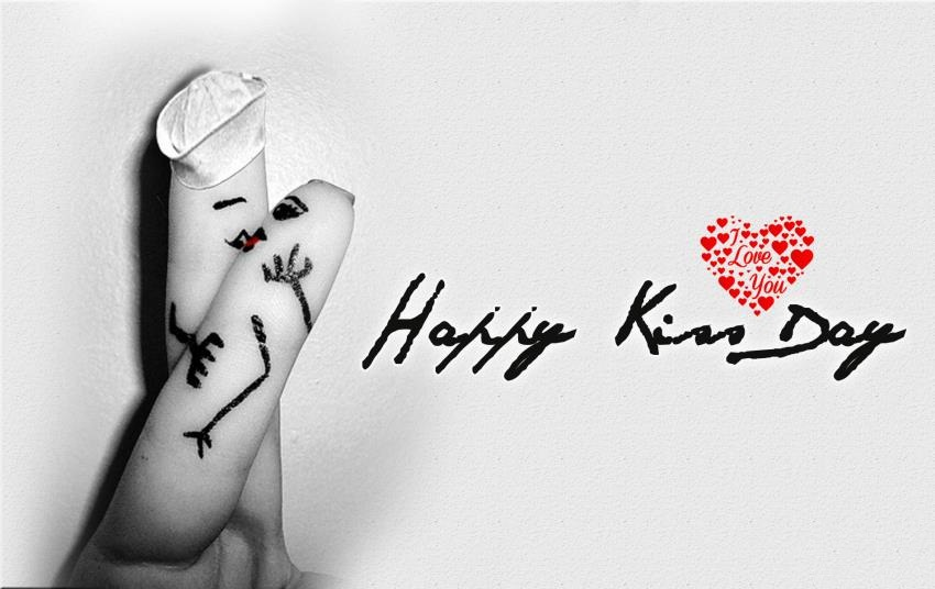 Happy kiss Day Quotes, Wishes, Greetings, Messages & SMS