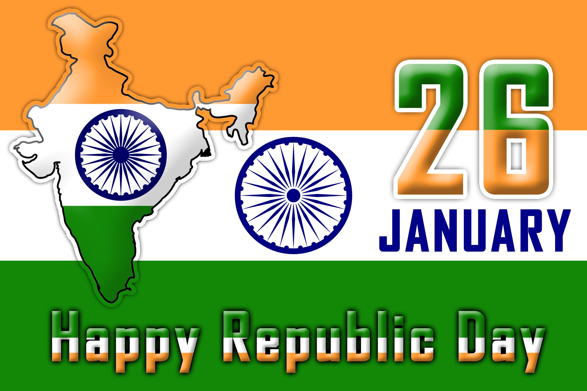 Republic Day Images Wallpapers Photos Pictures Pics Gif