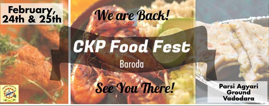 CKP Food Fest 3 vadodara