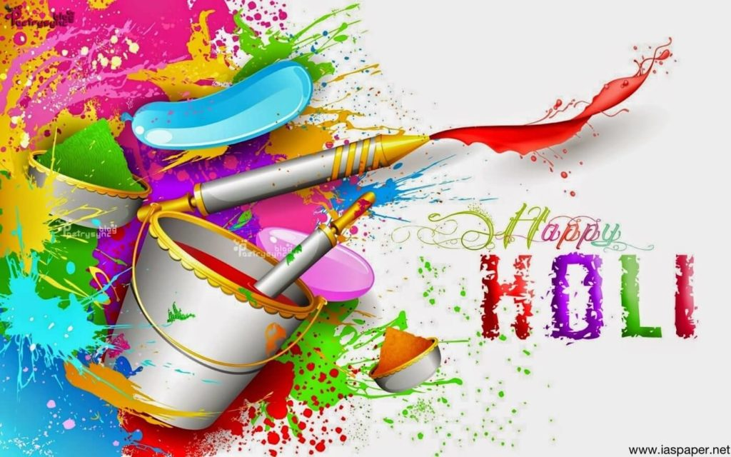 download happy holi wallpapers