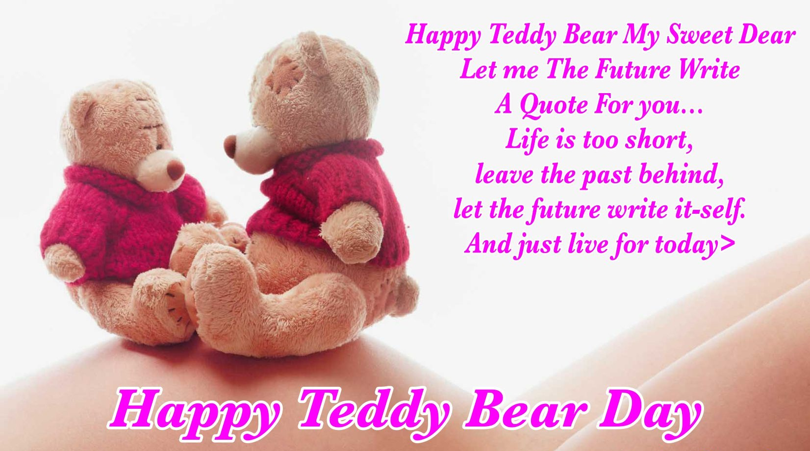 Happy Teddy Day Quotes, Wishes, Greetings & SMS