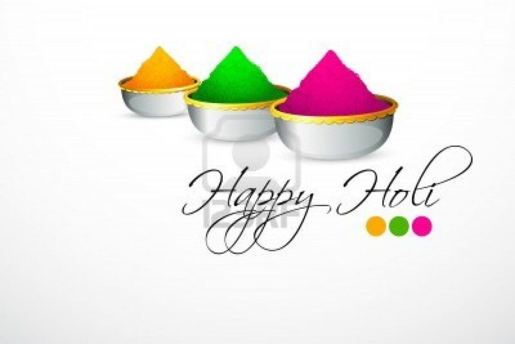 Happy Holi Color