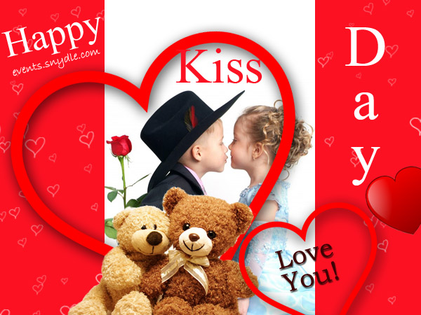 kiss day love images