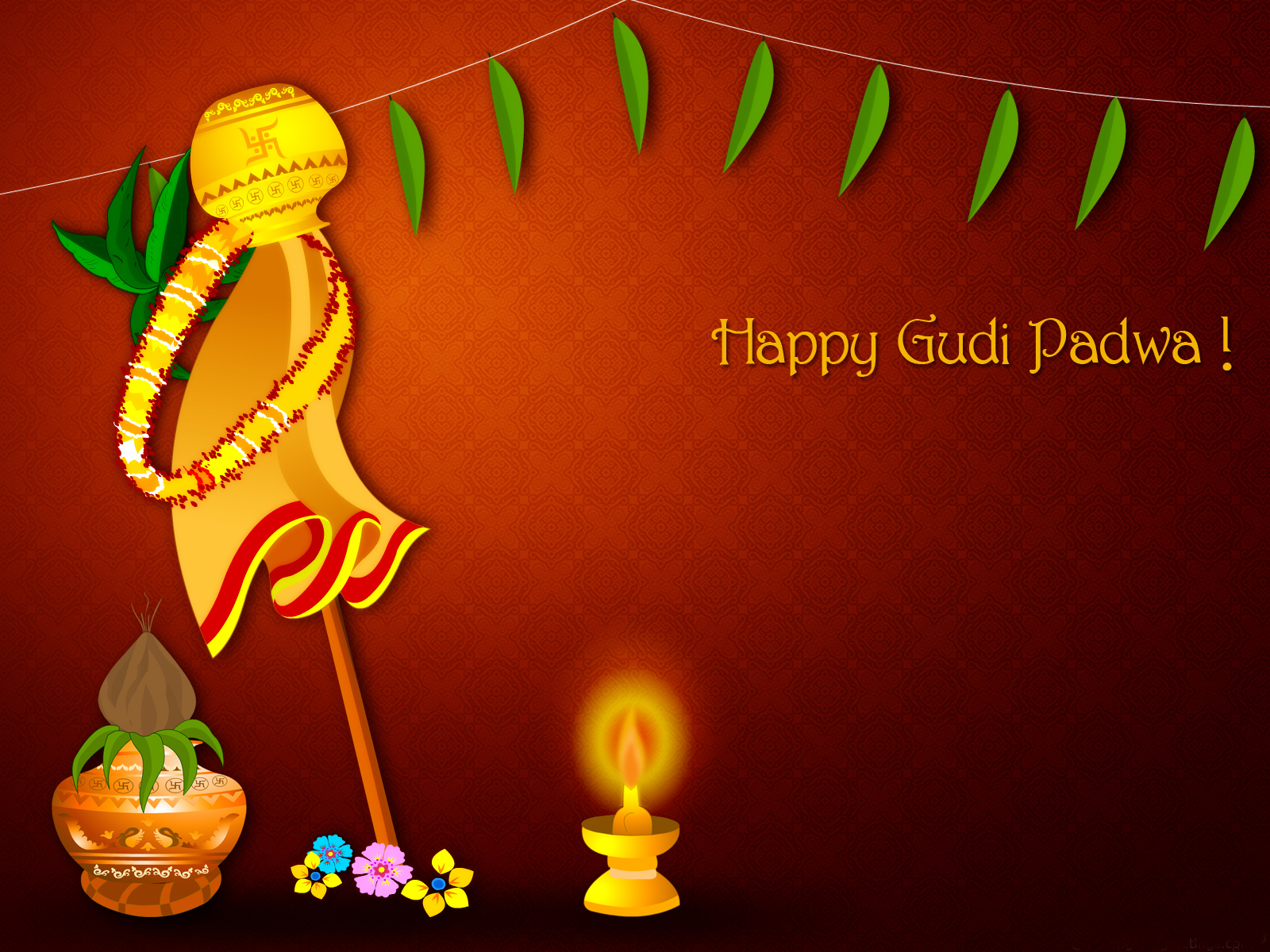 happy gudi padwa pictures and images