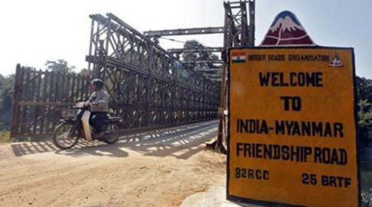 indo myanmar border friendship road