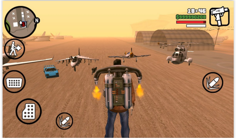 GTA San Andreas Apk Download (Normal + MOD APK + OBB) For Android