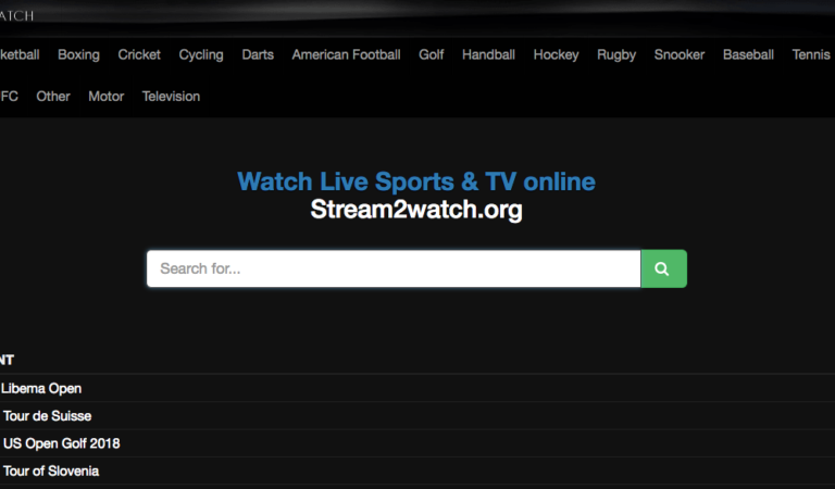 Top 15 Best Free Sports Streaming sites