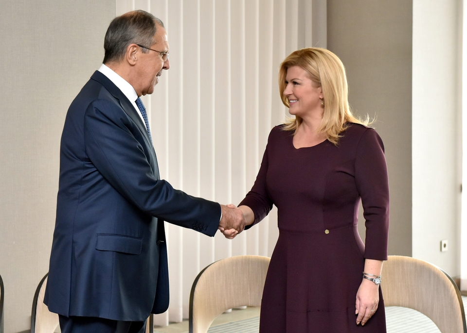 Kolinda Grabar Kitarović sexiest president in the world