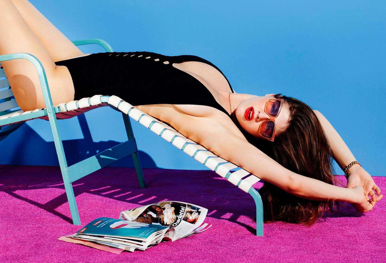alexandra daddario pics beach bikini photoshoot
