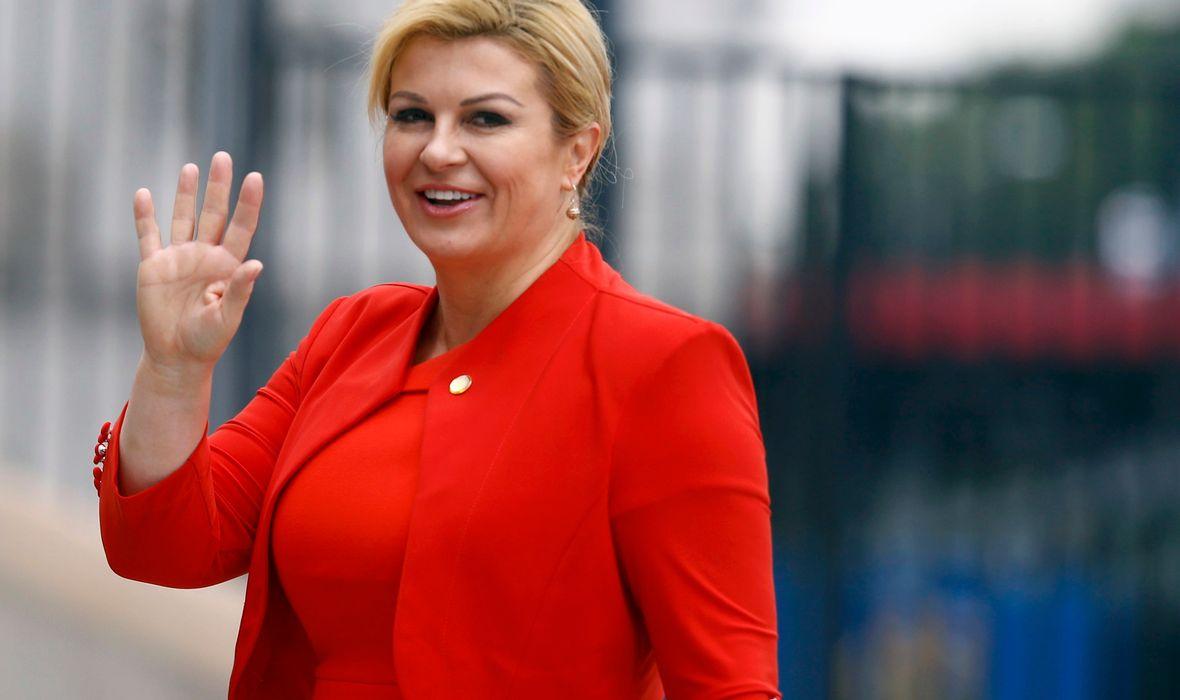 hot Kolinda Grabar Kitarović is sexiest president in the world