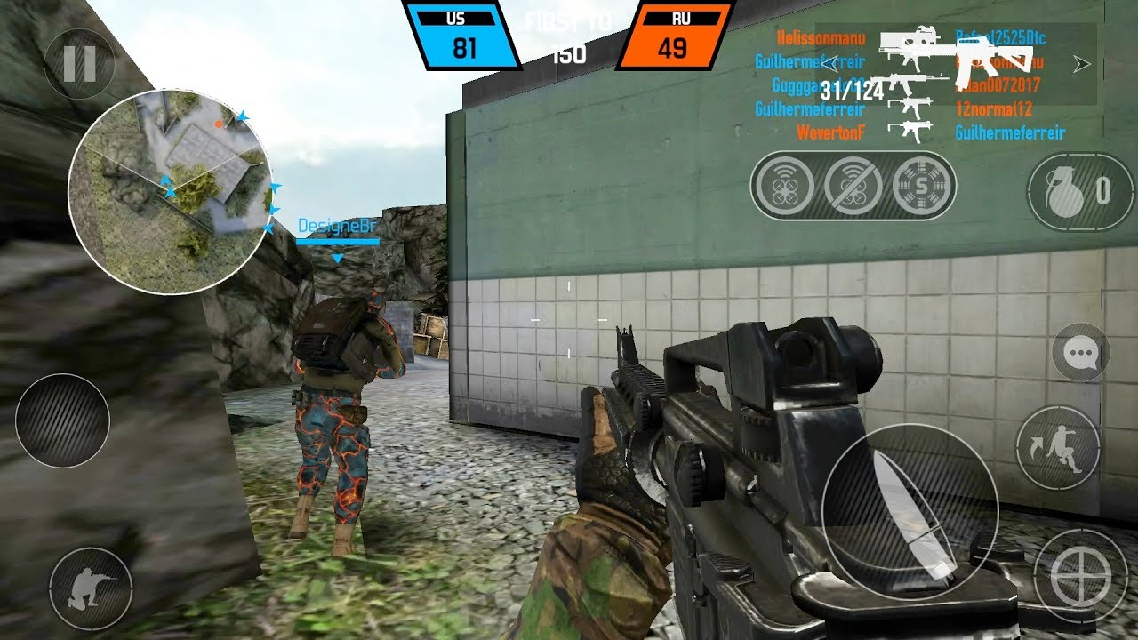 Bullet Force best iphone game