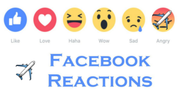 How To Add Plane React On Facebook like button update